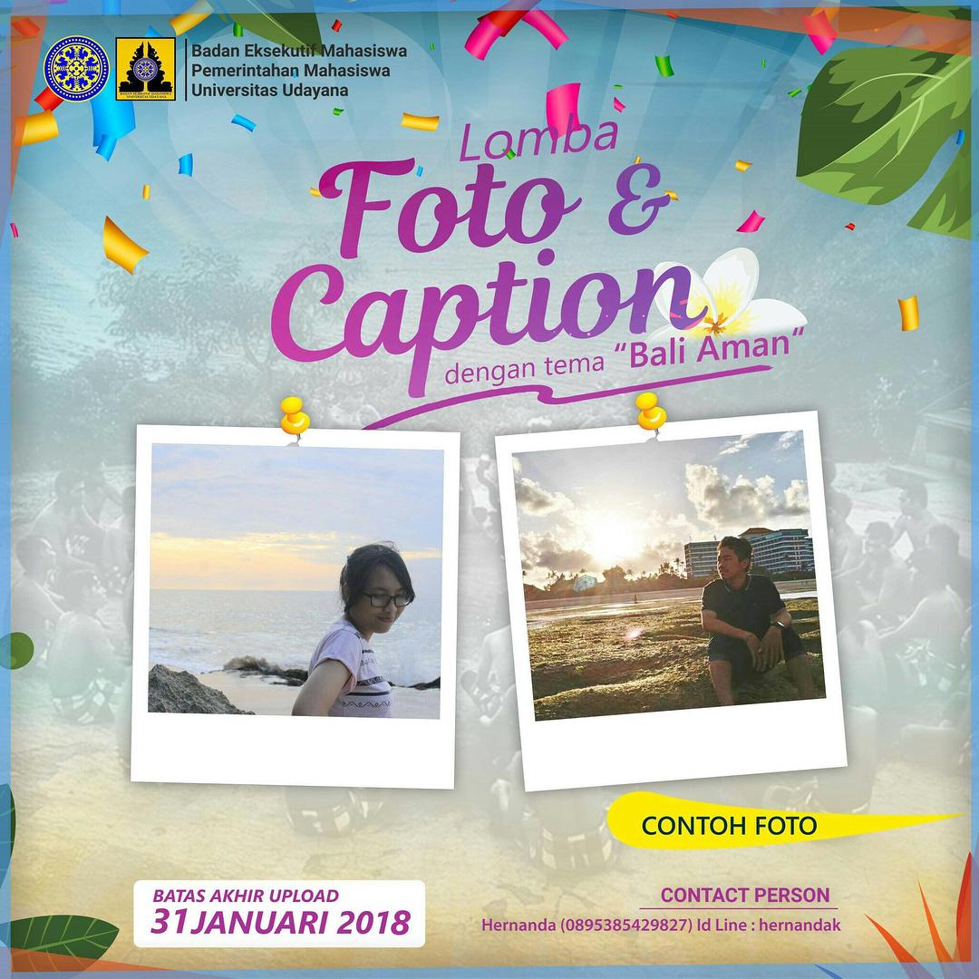 Lomba Foto Dan Caption Badan Kreatif Denpasar